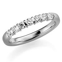 Diamant-Memoire Ringe